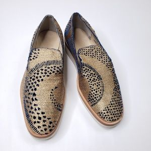 Free People snake eyes loafer NWT in box sz38